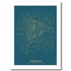 Montpellier City Map Poster Blue