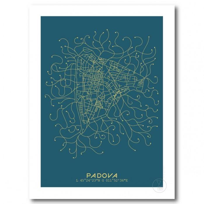 Montpellier Affiche Plan Bleu